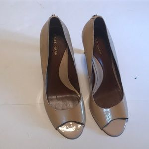 Cole Haan, 7 1/2 patent leather heels